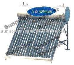 Chauffe eau solaire basse pression 150litres inox secu for Chauffe eau cuve inox